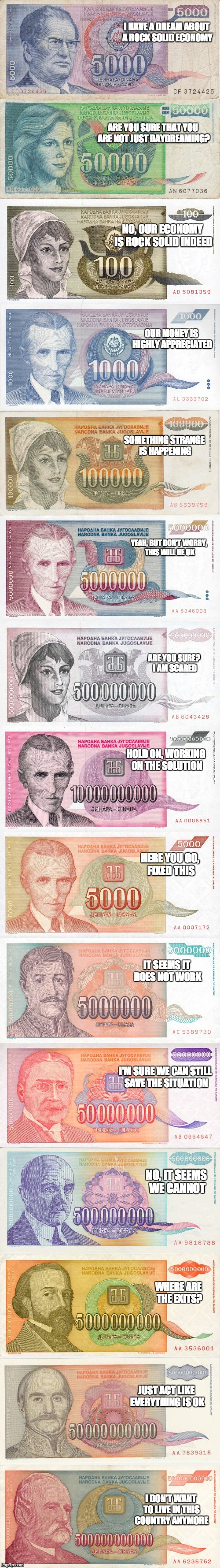 Hyperinflation, baby...