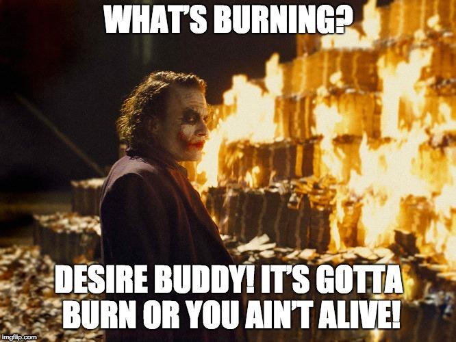 MisteryMoneyMan - Burning